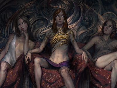 The Three Sisters Blind