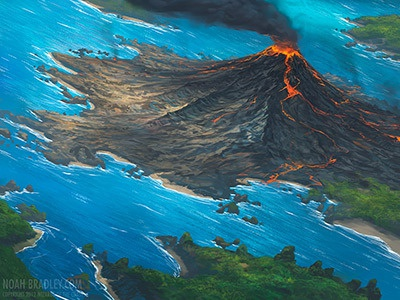 Noahbradley volcanicisland dribble