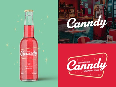 Canndy CBD-Infused Sparkling Soda | Concept