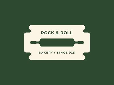 Rock & Roll Bakery bakerylogo bakery logotype style creative logo creative dribbble logoinspiration design branding logo