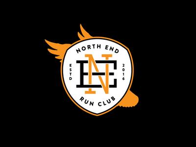 North End Run Club Badge