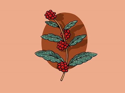 🌿 procreate ipad pro leaf branch illustration