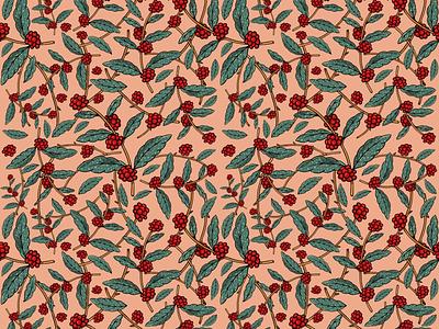 🌿 pattern pattern procreate ipad pro leaf branch illustration