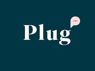Plug PR_Logolounge 11! dots bubble pr plug logolounge