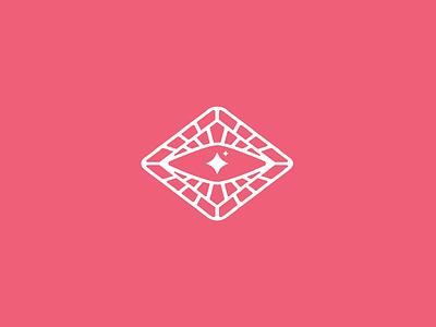Eye icon lash pink branding brand icon eye eyelash