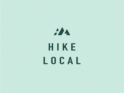 Hike Local_Unused perspective mountain green negative space outdoor sports hiking local hike