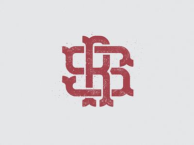 SR monogram r s gray red logo monogram logo monogram