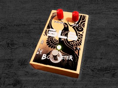 Silkscreen Guitar pedals guitar pedal guitar silkscreen graphic design