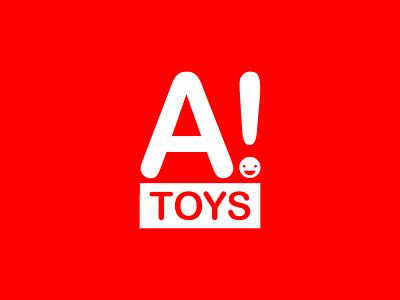 Logo for toy company branding logo graphic design