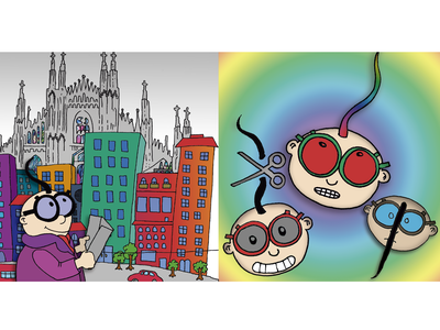 Book for children book graphic design illustration