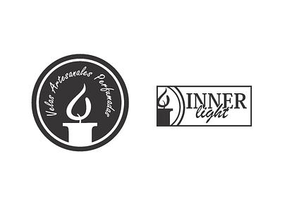 Candle Company Logo branding design graphic design