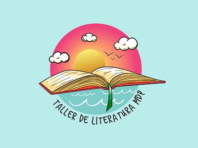 Reading workshop logo branding design illustration graphic design