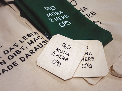MONA & HERB Screen Printing branding merchandise logo print screen printing