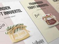 Hoeflmaier | Print Design print graphic design cheese poster flyer food postcard brochure design