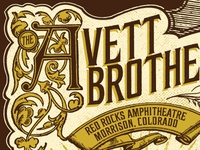 Avett Red Rocks