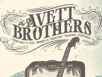 Avett Brothers Type