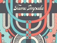 Tame Impala Tour Poster