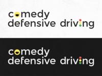 Comedy Driving Logo Concept