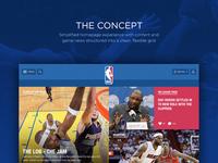 NBA.COM Concept