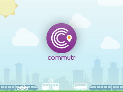 Commutr icon branding app