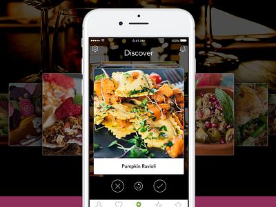 Foodie App mobile food apple ios app