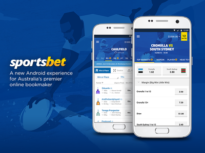 Sport Betting App design ux ui mobile app android