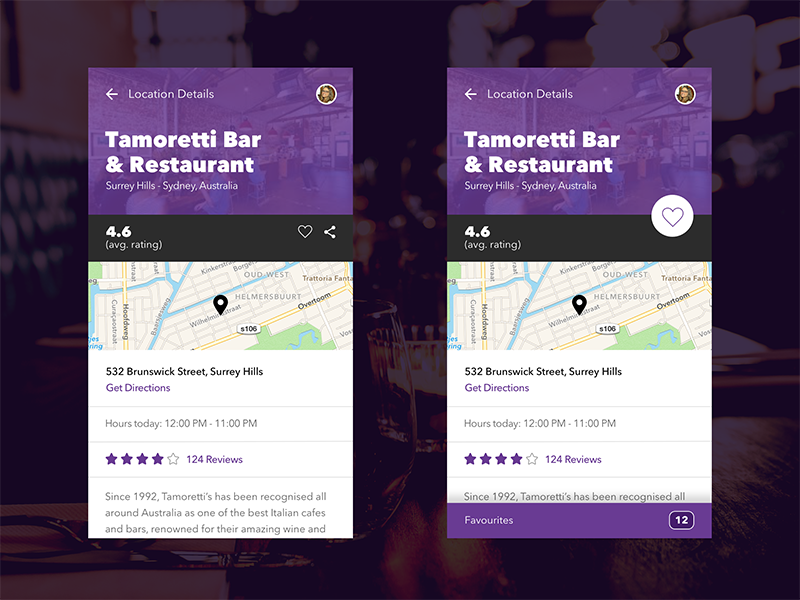 Restaurant Booking App ux ui restaurant food material app mobile android