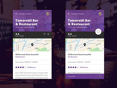 Restaurant Booking App ux ui restaurant food material app mobile android