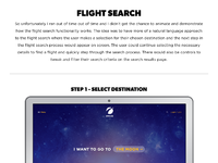 Travis white spaced website search