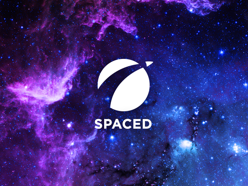 SPACED - Brand Concept epicurrence logo brand spacedchallenge