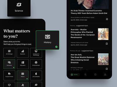 Heuristic Rule 02 - Medium Apps medium article apps minimalist interaction design uxdesign uidesign uiux