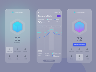 Phone Manager phone manager uidesign interaction design ux ui