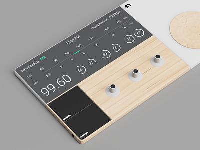 Radio Tunnels productdesign product industrialdesign uidesign ui minimalist ux design