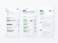 Trello Managament App - Neumorphism UI