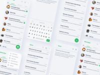 WhatsApp soft UI (Neumorphism)? 🤔