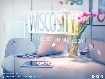 Wiscosity.com white office web portfolio wiscosity