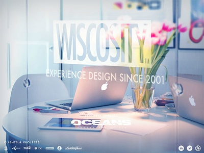Wiscosity.com white office web portfolio wiscosity