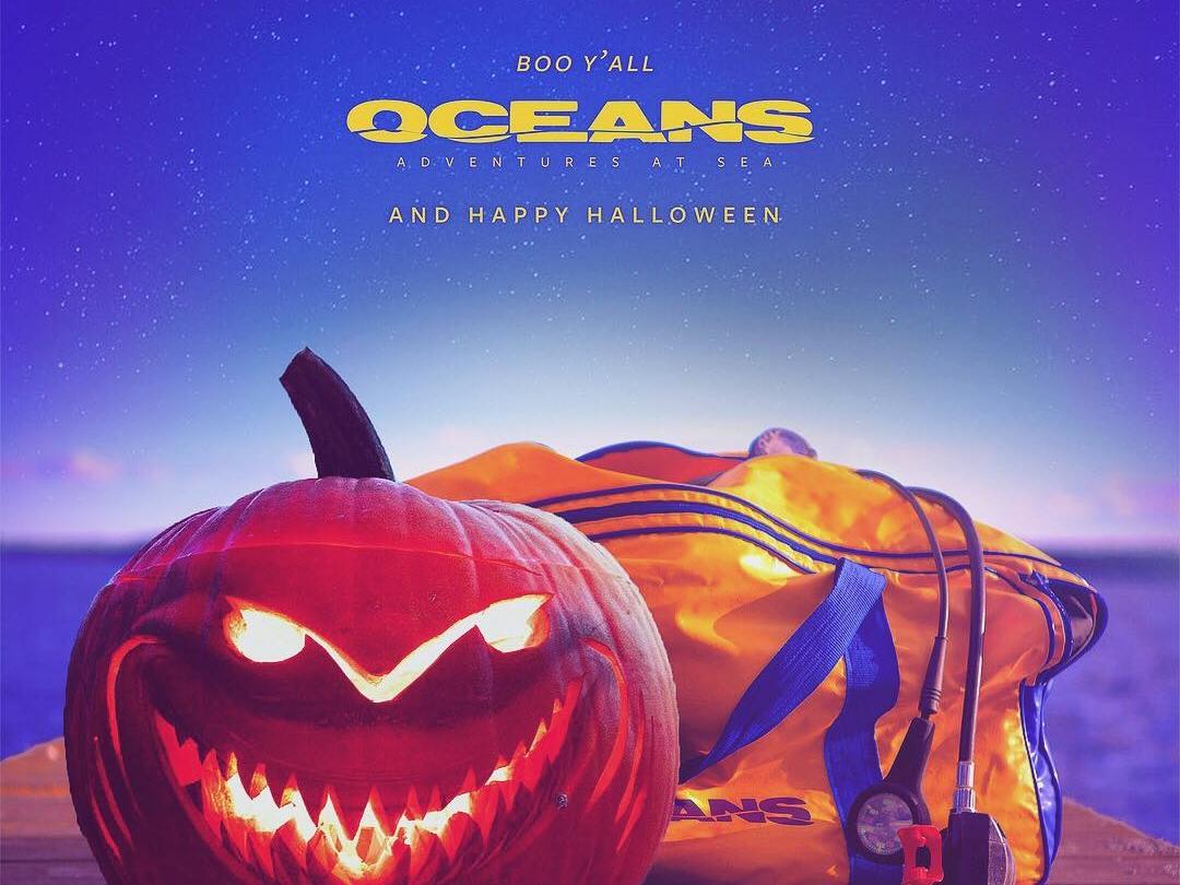 Happy Halloween 🎃👻🦈 oceans.io oceans halloween
