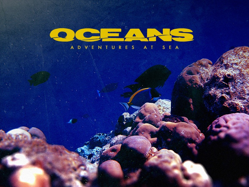 Oceans Logo oceans logo photo background water