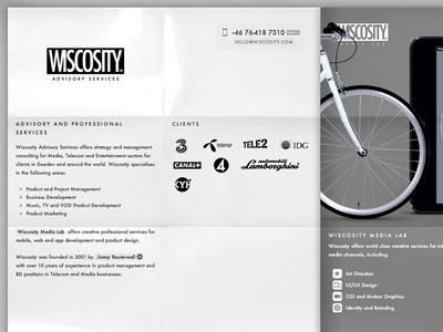 Wiscosity Redesign