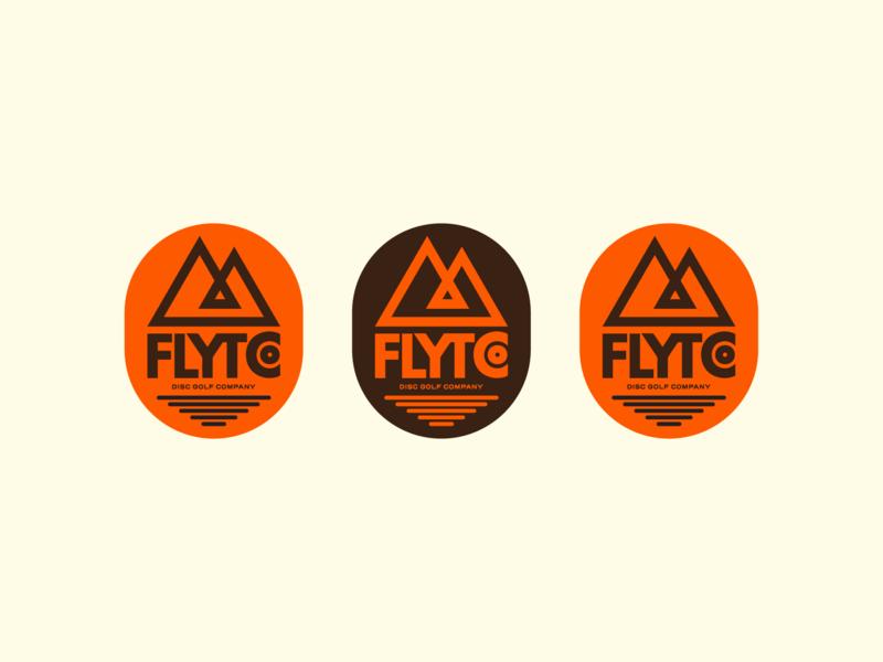 Disc Golf Badges disc golf illustration camping mark typography outdoor badge badge branding icon logo