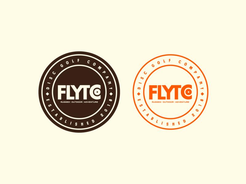 Disc Golf Badges disc golf illustration camping mark typography badge branding icon logo