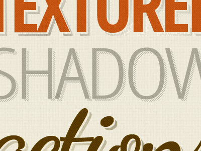 Shadows n' Patterns shadow pattern texture photoshop action graphic river