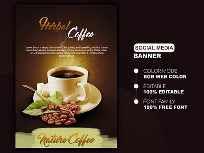 Social Media Banner Post Design Template photoshop illustration design creative poster
