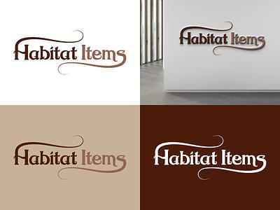 Habitat Items Logo Design graphic design app food food logo vector logo busines branding illustration design creative