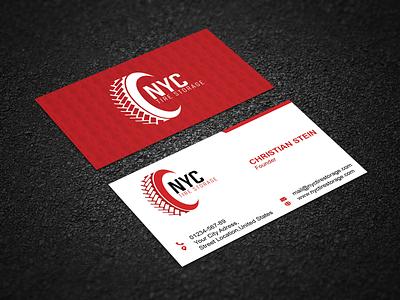 NYC Business Card branding business card busines vector illustration design creative