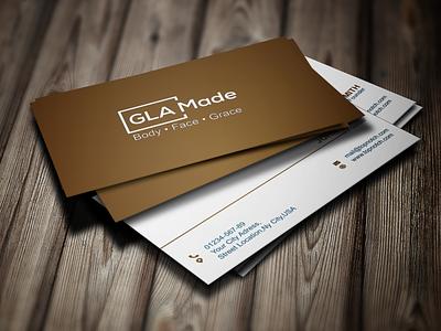 Business Card Design business card graphic design branding busines vector creative illustration design