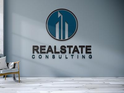 Realstate Consulting Logo Design realstate consulting logo logo graphic design branding busines vector creative illustration design