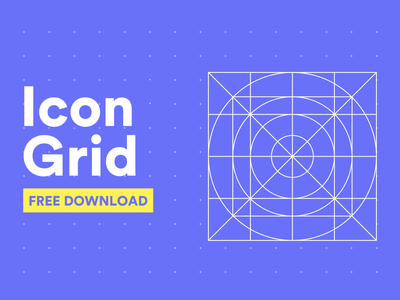 Freebie | Icon Grid For Your Design Project johnyvino sketchapp freedownload branding clean design app ux ui appicons gridicon grid logo icon