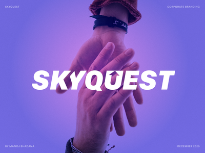 SkyQuest: Corporate Logo Design johnyvino manoj bhadana animation ui ux branding design business businesslogo branding logodesign logo